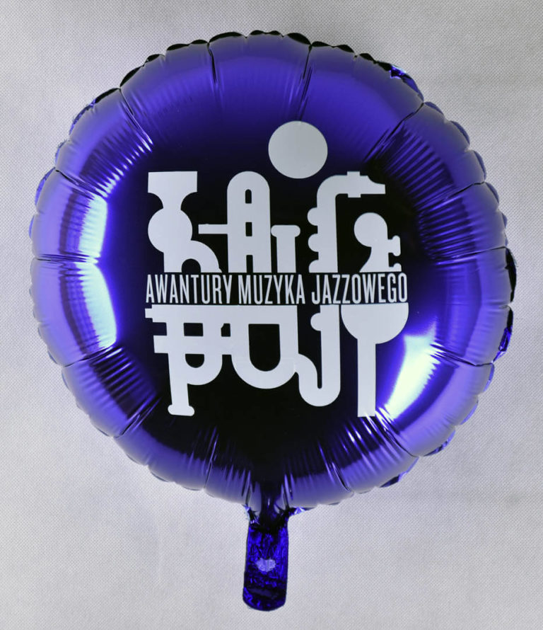balon foliowy z nadrukiem