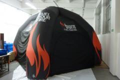 namiot-pneumatyczny-pająk_burn
