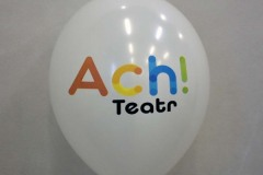 balon z nadrukiem ach teatr