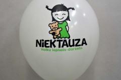 balon z nadrukiem niektauza