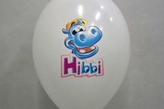 balon z nadrukiem hibbi