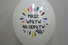 balon z nadrukiem masz wpływ na odpływ