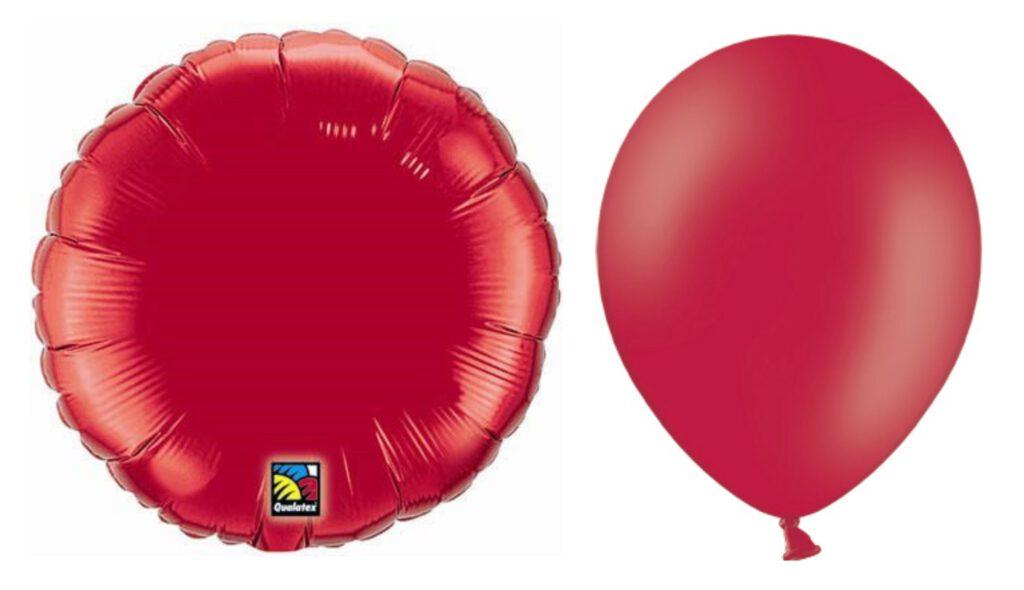 balony lateksowe vs balony foliowe