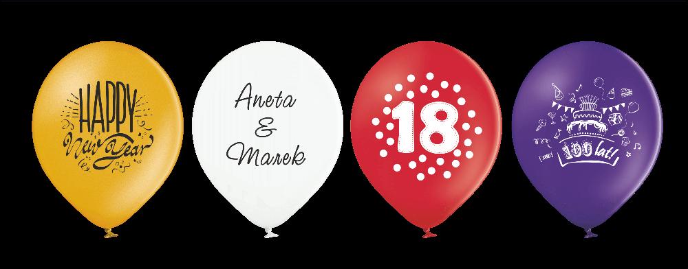 balony okolicznościowe